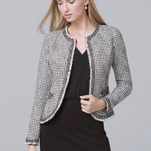 WHBL tweed jacket blazer NWT size medium M